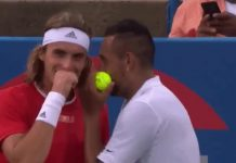 Tsitsipas and Kyrgios